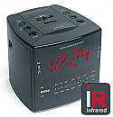 COV-IRCR Hidden Infra Red Night Vision Camera Clock Radio with Integrated Digital Video Recorder Built into a Working Clock Radio