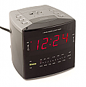 COV-CCCR Hidden Color Video Camera with Integrated Digital Video Recorder Built into a Working Clock Radio.