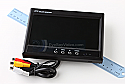 "VM-70 7"" LCD/TFT Color Video Monitor with Audio and Mirror Mode"